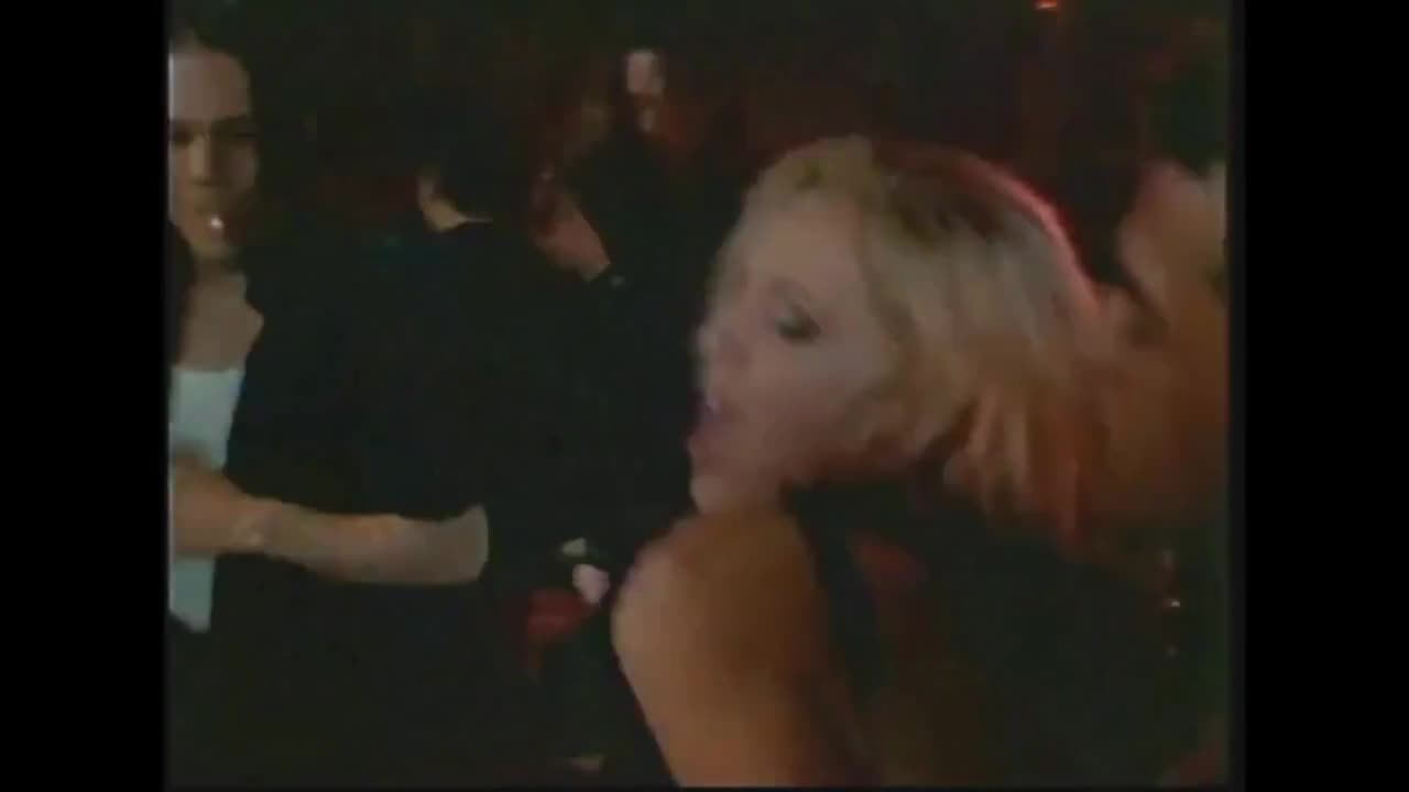 Getting her tits sucked on while on the dance floor