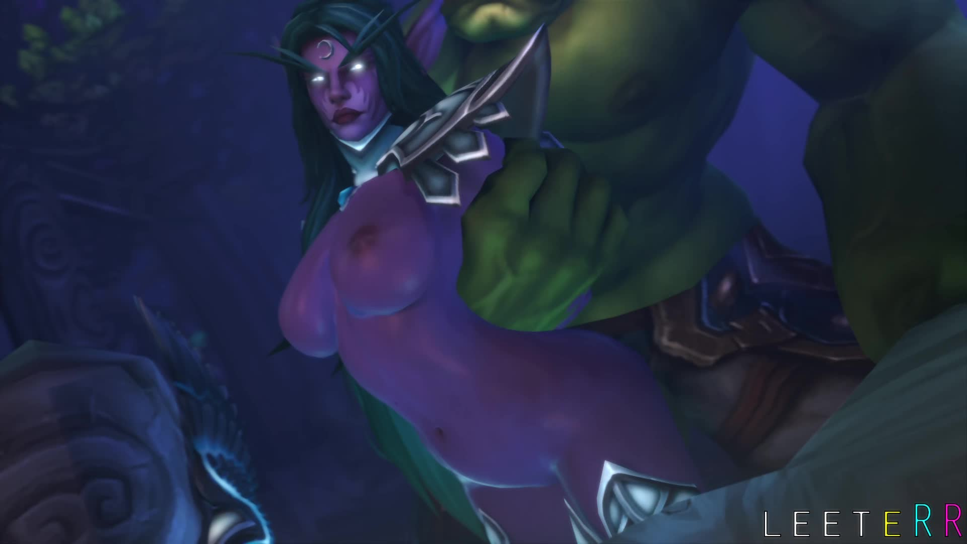 Wow 2 orc fuck a night elf adult video