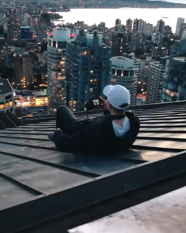 Watch this humanapproved GIF by Subterfug3 (@subterfug3) on Gfycat. Discover more Skyscraper, Skyscraper, Sliding, Sliding, Vancouver GIFs on Gfycat