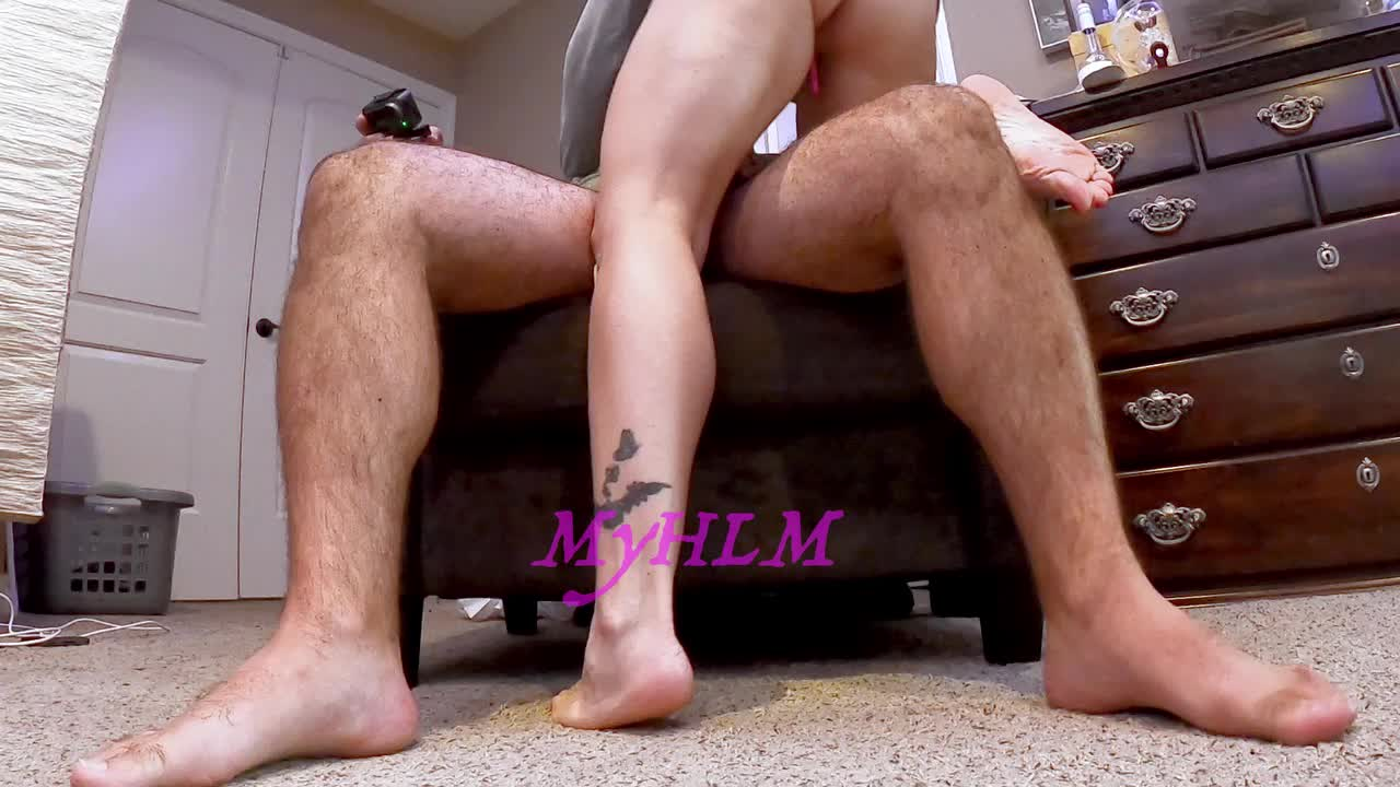 When I let hubby fuck my ass he always fills it at least twice!
