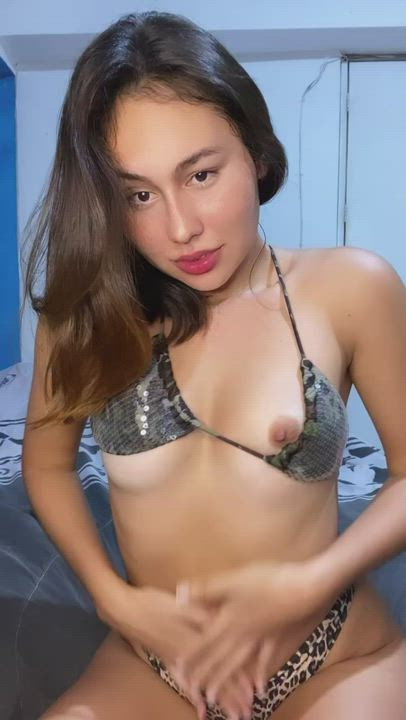 Would you like to try my small tight pussy? I'm so horny