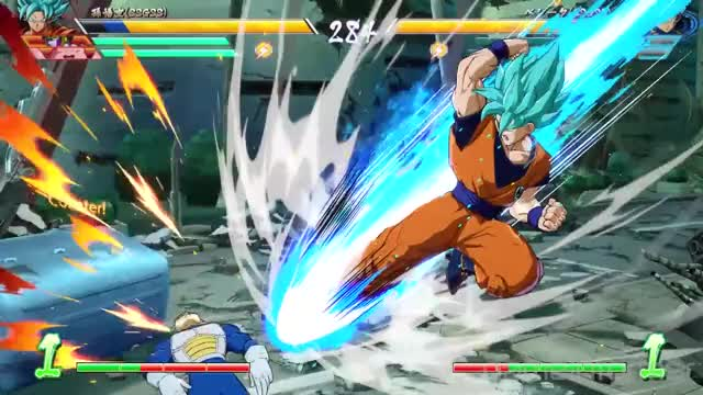 Watch SSB goku teleport hitstun GIF by @fame96 on Gfycat. Discover more bandai, dragon ball fighterz, dragon ball z, fighterz, game informer, namco, new gameplay dragon ball GIFs on Gfycat