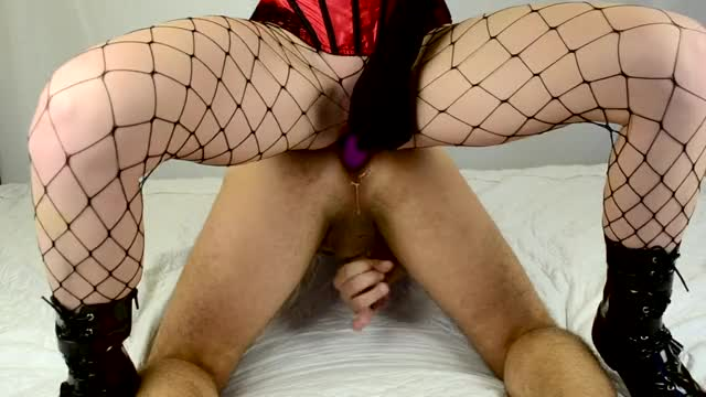 hawt Amateur Hotty Enjoys Pegging her Boyfriend with a Double End Fake penis