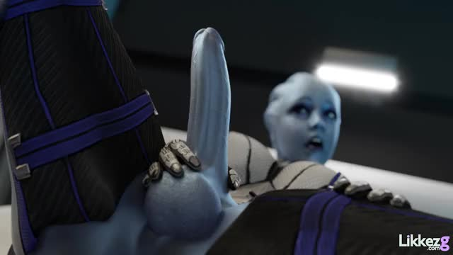 liara blowing her load