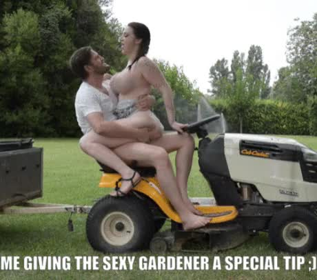 Fucking the gardener while husbands at work