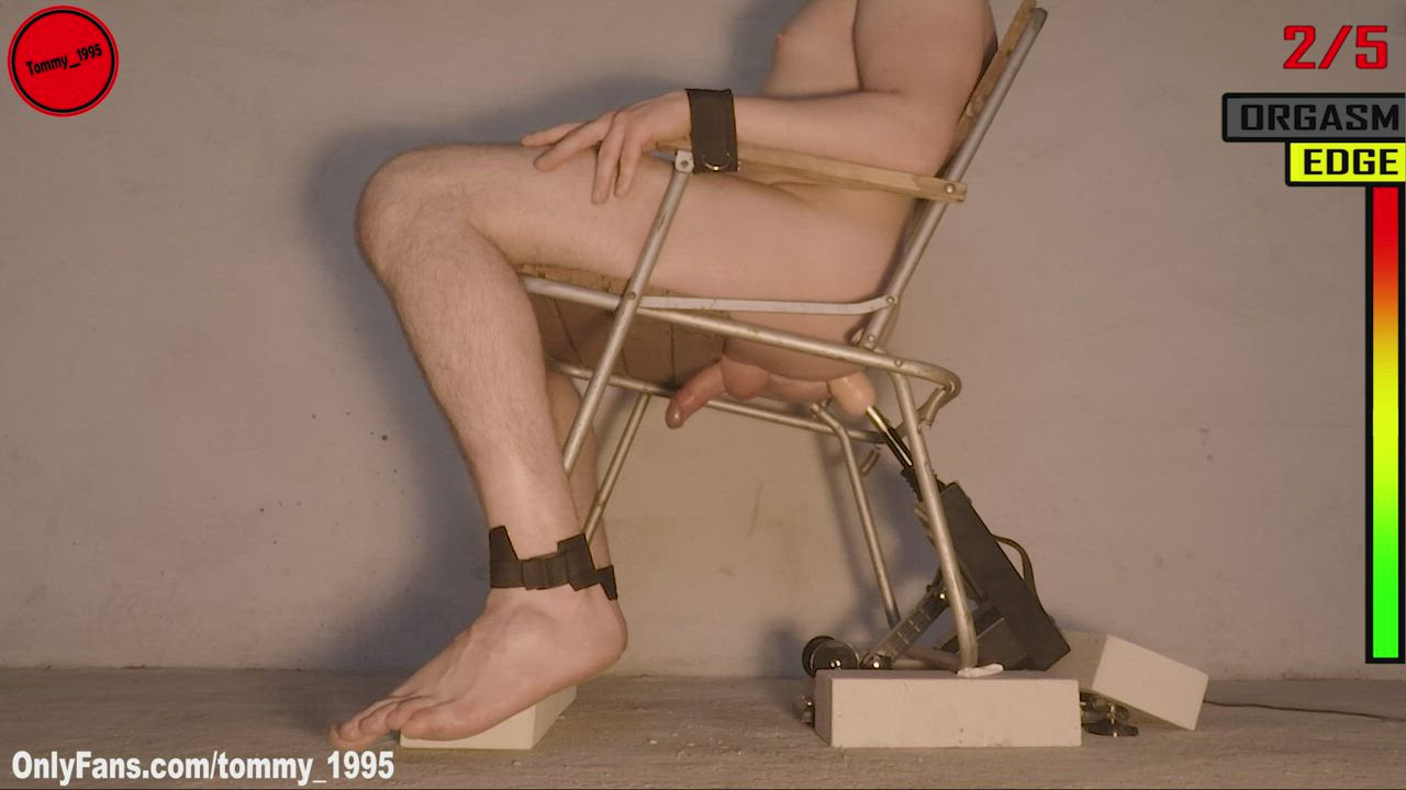 Restrained for ruthless prostate milking procedure