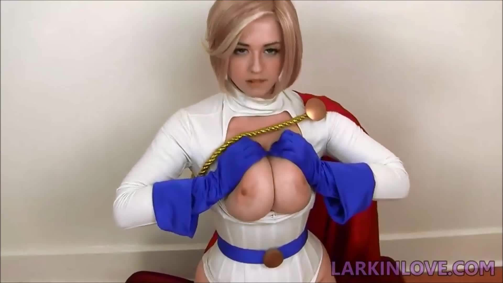larkin love power girl
