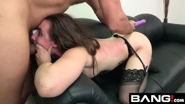 casey Calvert gets Fish-hooked on the Couch