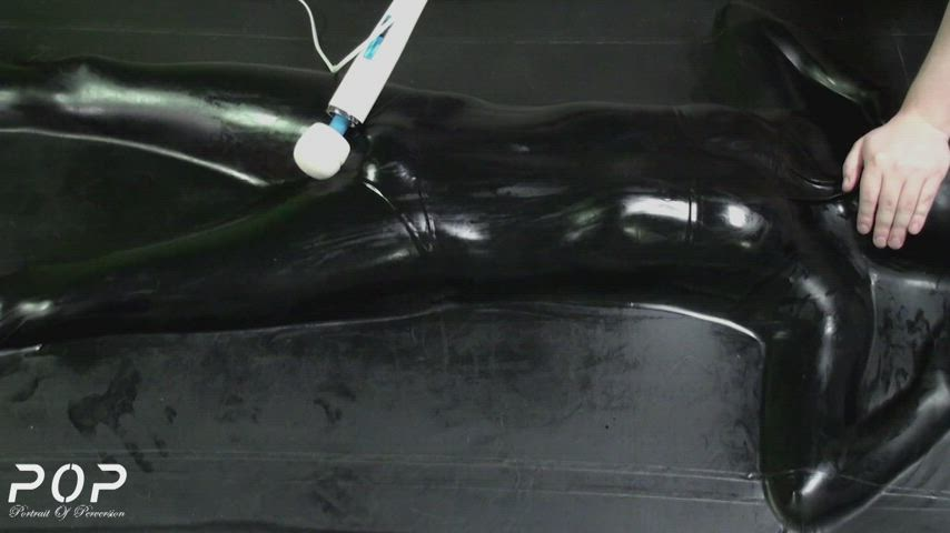 Forced to cum over and over in a Vacbed.
