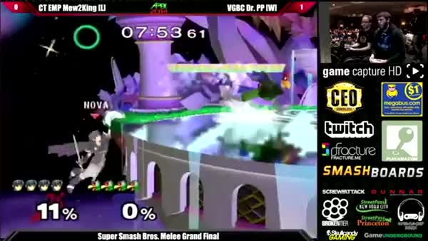 PPMD's wicked dair to fsmash on M2K. The hype was real. [APEX 2014 Grand Finals]