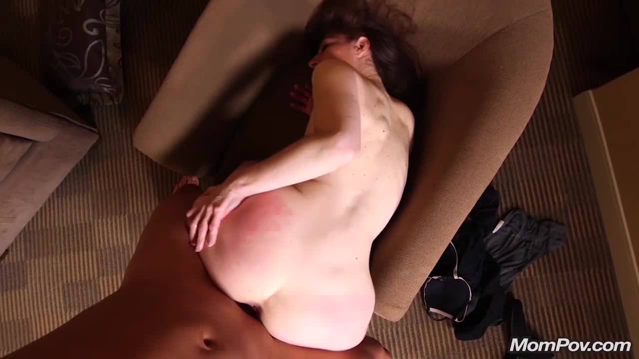 Her red ass takes a pounding, up in the air face down