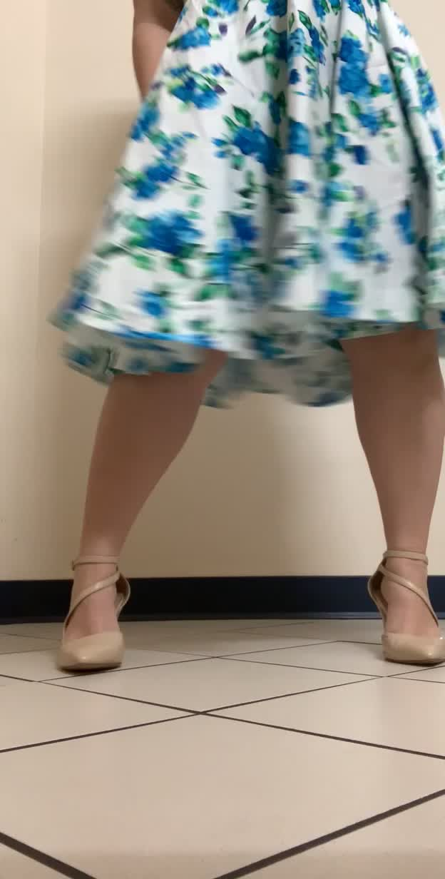 My panties don't match my dress. What should I do about that?