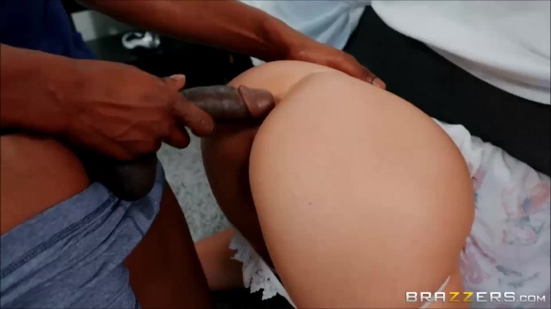 Abella Danger Caught Between A Bed And A Hard Cock 2020 HD