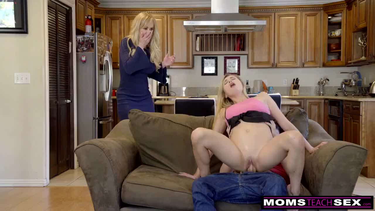 Mom caught brother and sister fucking