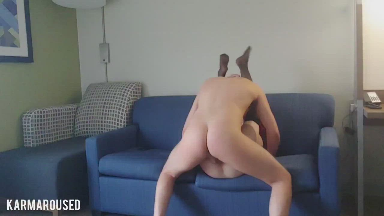 One of my favourite positions! He gets so deep!