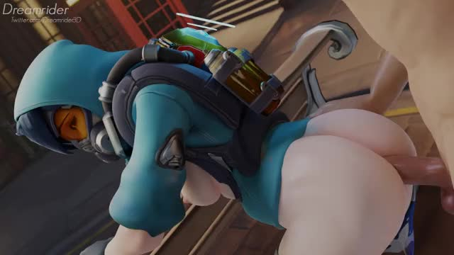 tracer enjoying anal