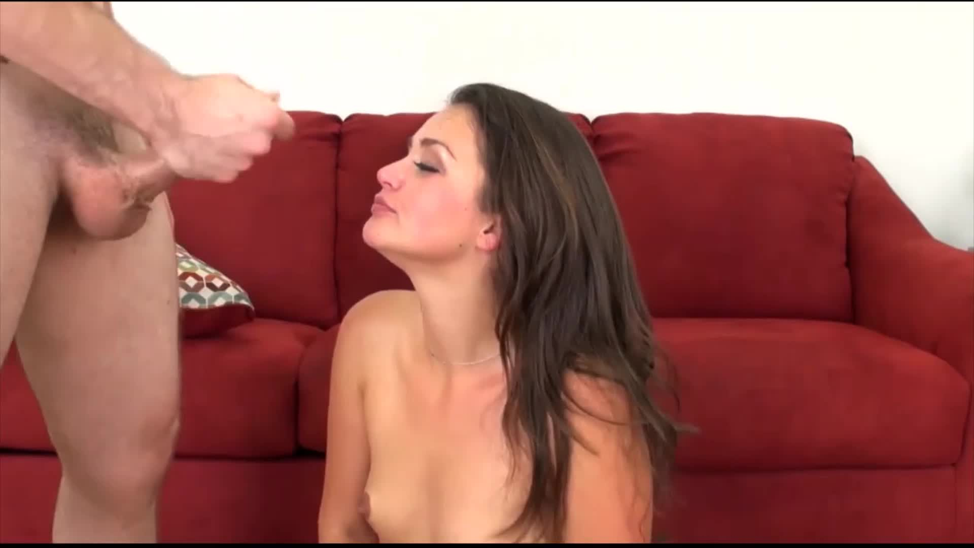 Allie Haze Facial
