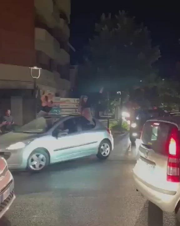 More italian going topless for their team [00:35]