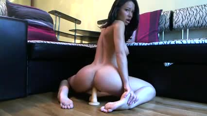 She Loves Riding Her Dildo (Nice ass)
