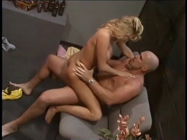 Renee LaRue Riding Mark Davis To Orgasm