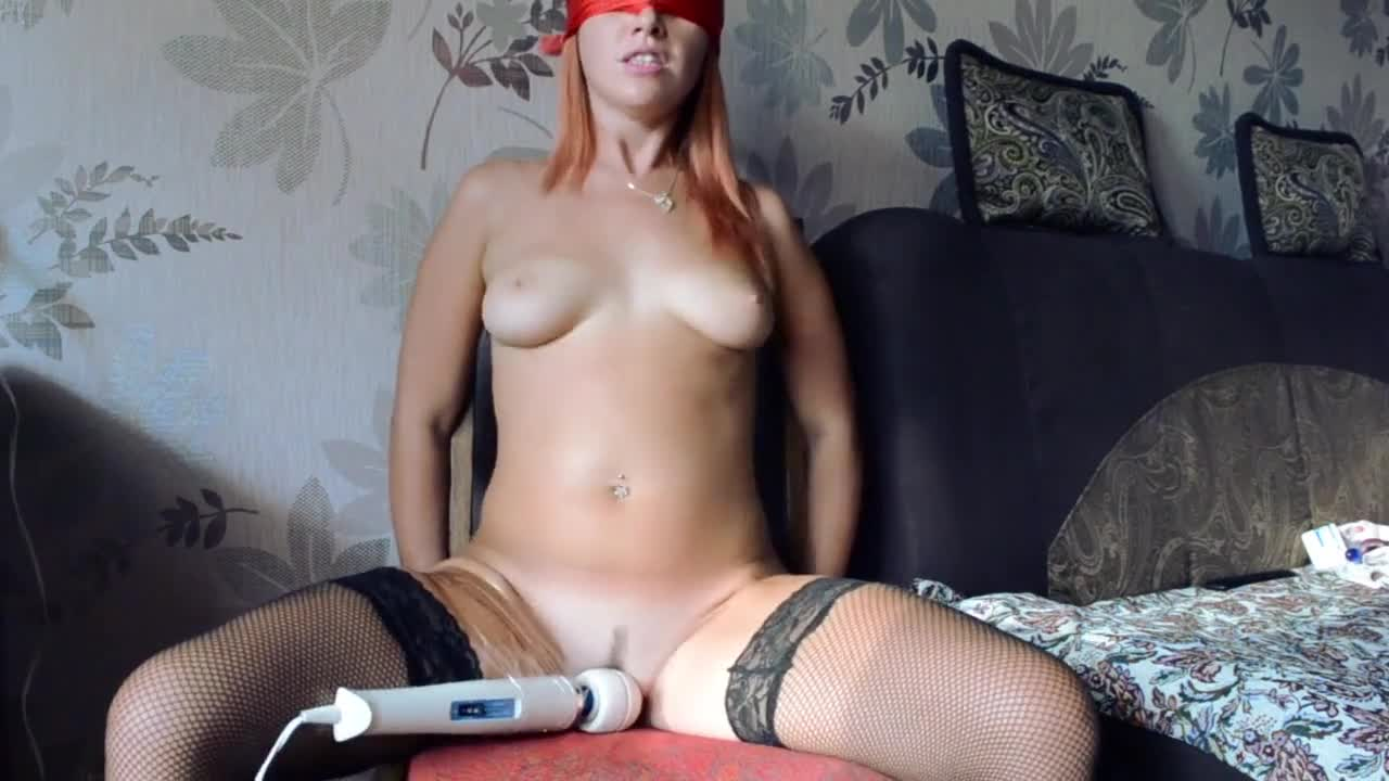 Tied Up Girl Has An Orgasm