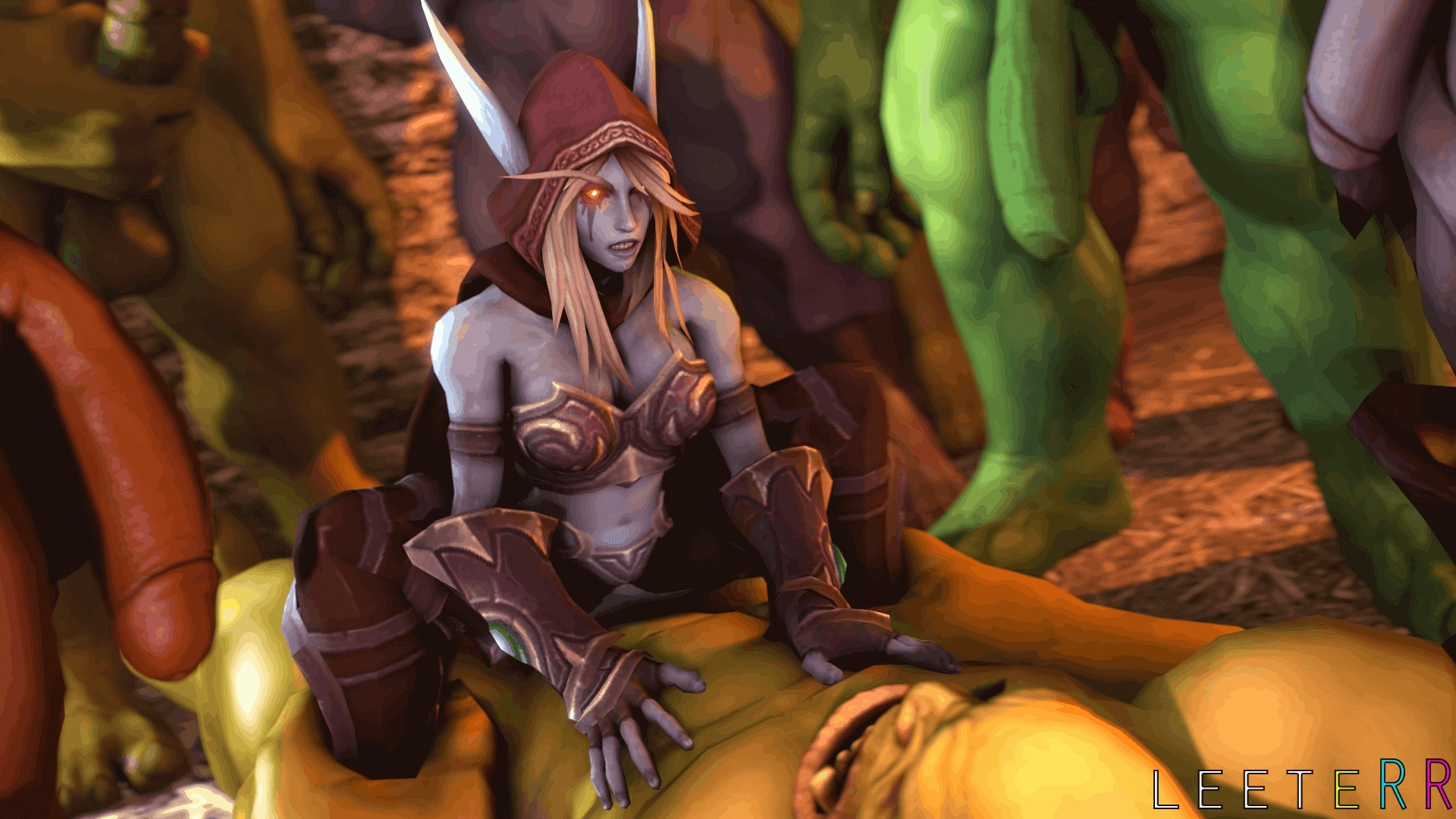 Anime world of warcraft sex videos porn scenes