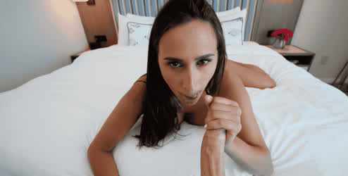 Ashley Knows How to Take Care of a Cock