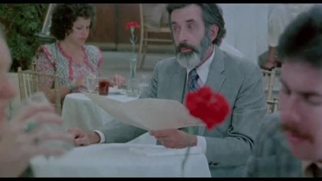 A restaurant where even the waitress is on the menu! - Barbara Broadcast 1977 ;)