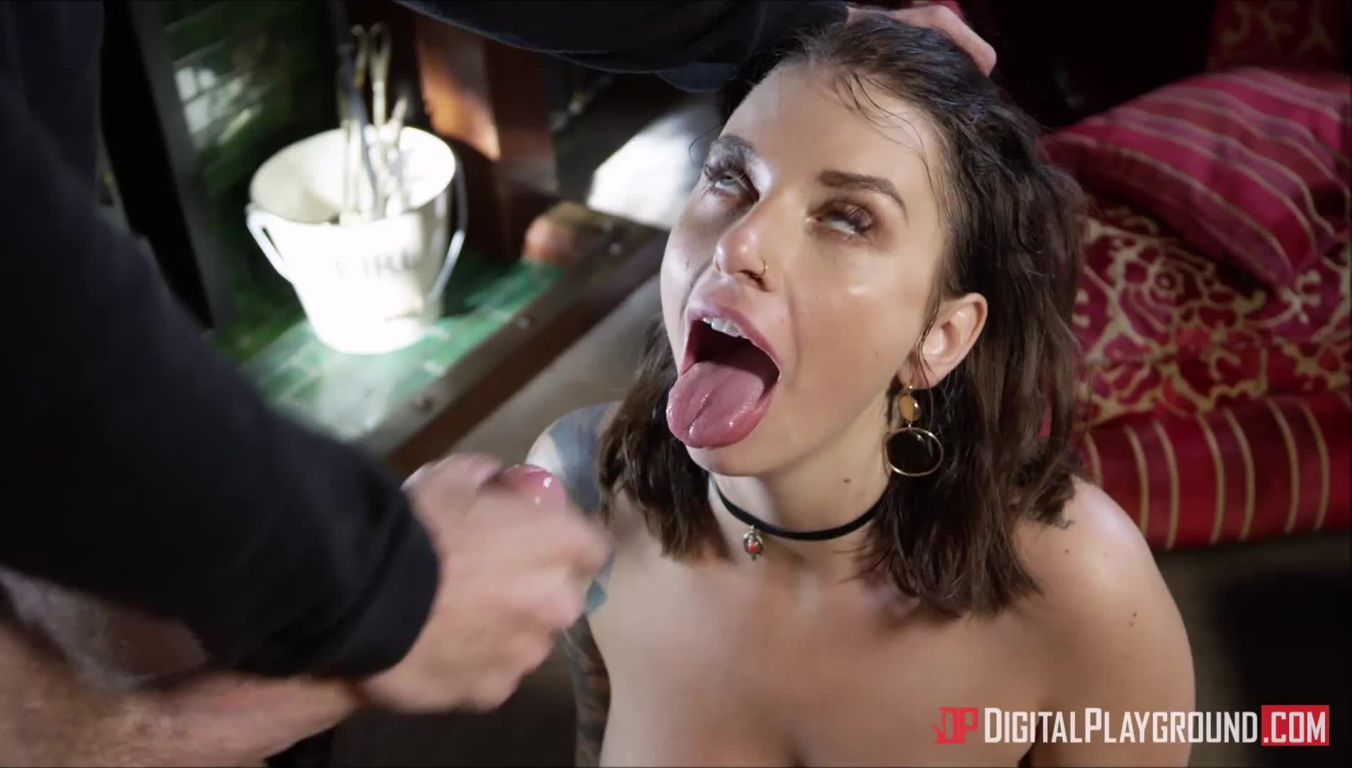 Ivy Lebelle gets drenched by Danny D