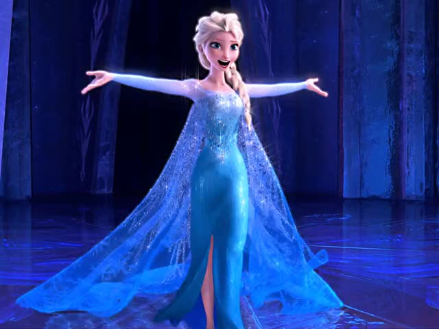 elsa's hips do not lie with some added bounce