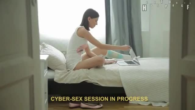 cyber-Sex Session In Progress