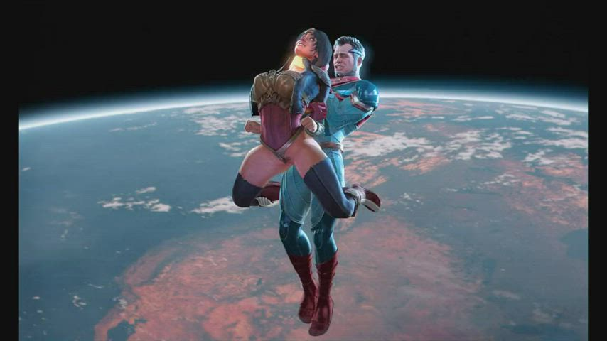 Wonder Woman space experience (Froggysfm) [DC Injustice]