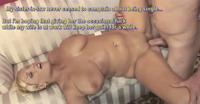 Fucking chubby sister in law