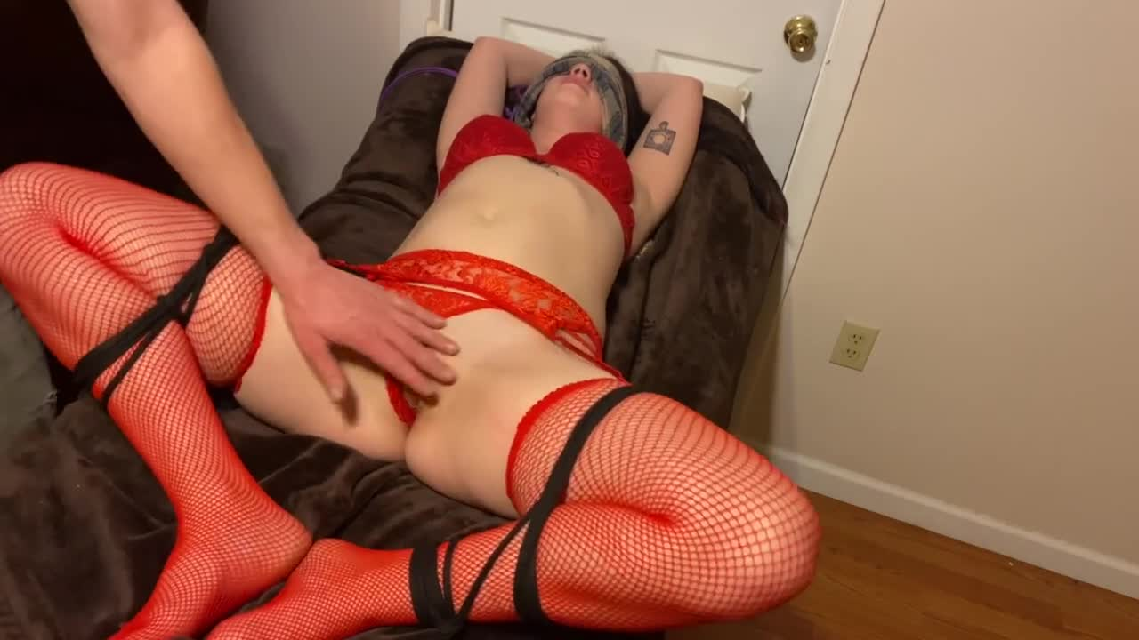 Teasing And Torturing My Pussy Bondage With Cum On Face Porn GIF by HaydaJayda