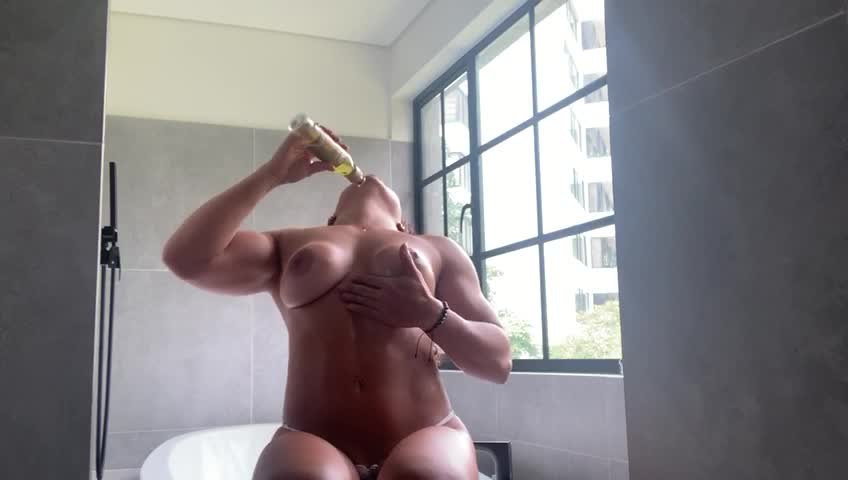Oiled and ready for you