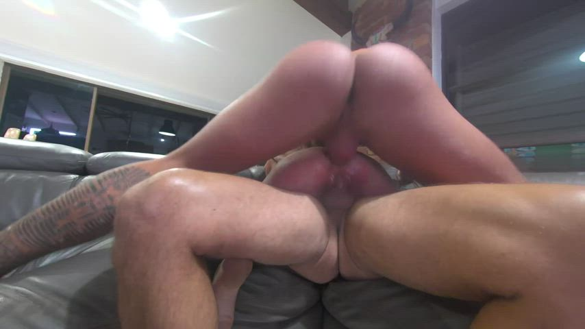 me getting DP'ed by my man and his best mates fat cocks.. What do you guys think???