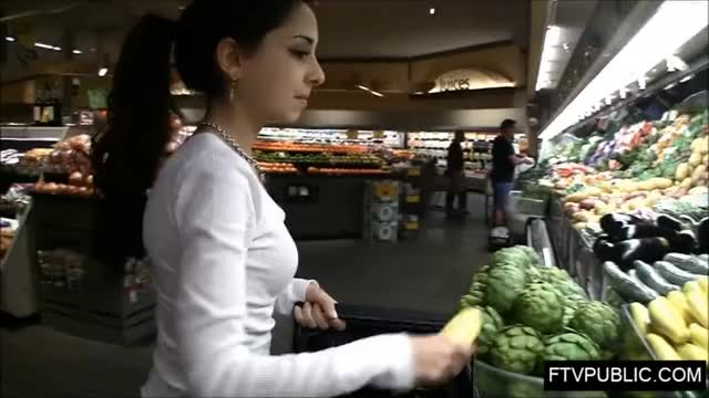 Public Anal Insertion in whole Foods