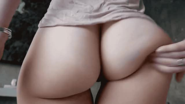 ashley Bootie slapping slow motion GIF