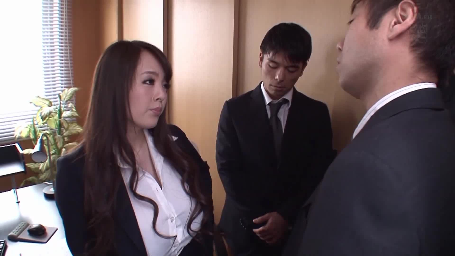 Hitomi | Busty Female Boss with Huge Tits