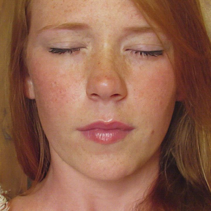 Adorable redhead cums [motion-tracked, o-face only]