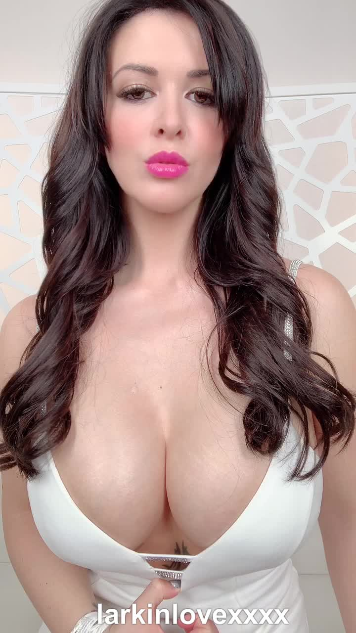 Showing off in my tight white dress