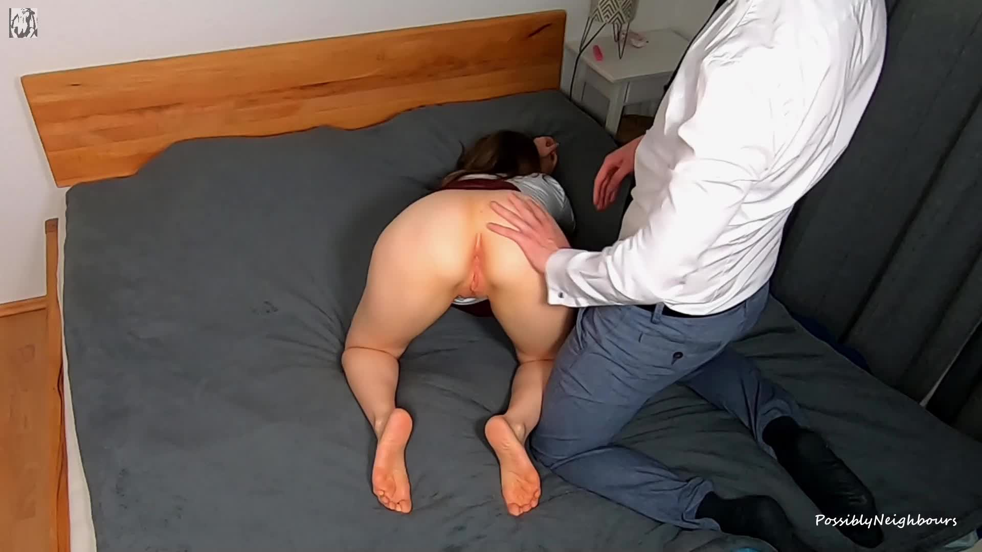Blindfolded Surprise By Husband (Cuckold)