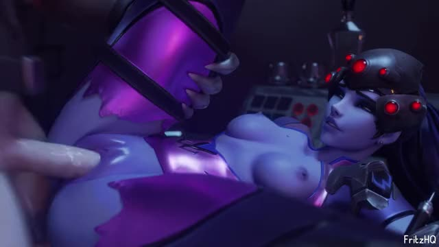 widowmaker getting pounded