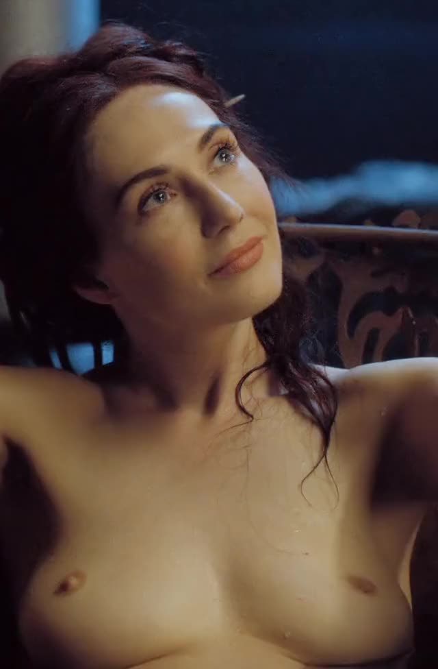 Carice van Houten in the bath in Game of Thrones (CROPPED FOR MOBILE, COLOUR CORRECTED, 3 MIC)