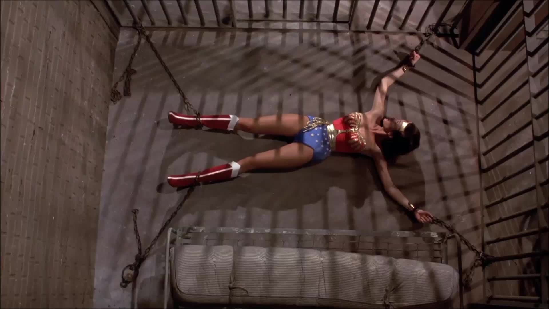 Wonder Woman In Chains - gif