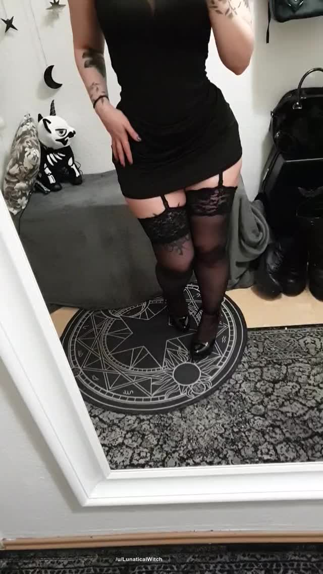 Is there even such thing as too short skirts? 🖤