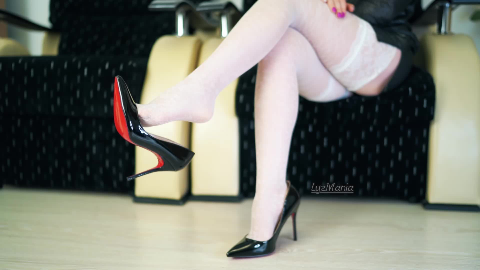 Do you know anything hotter than Dangling High Heels?