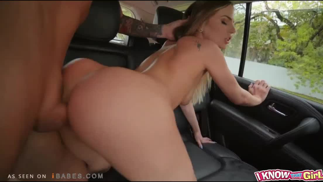 Sydney Cole Fucked Doggy Style in the Car