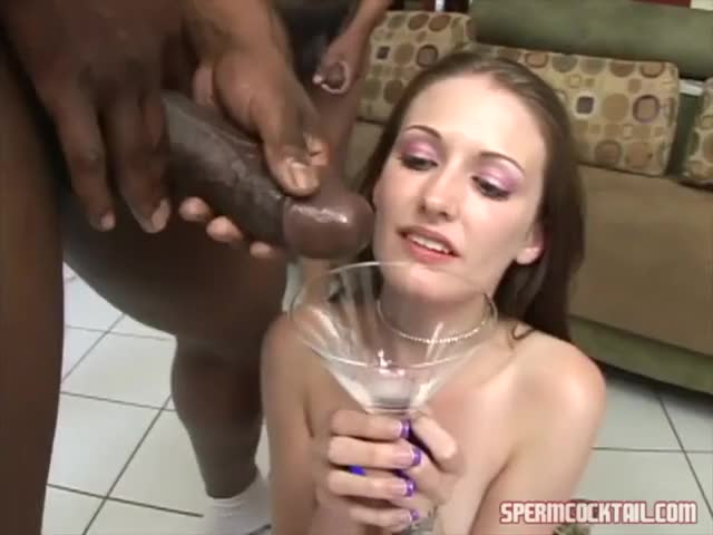 hailey Teen and the Martini of Guy-Milk
