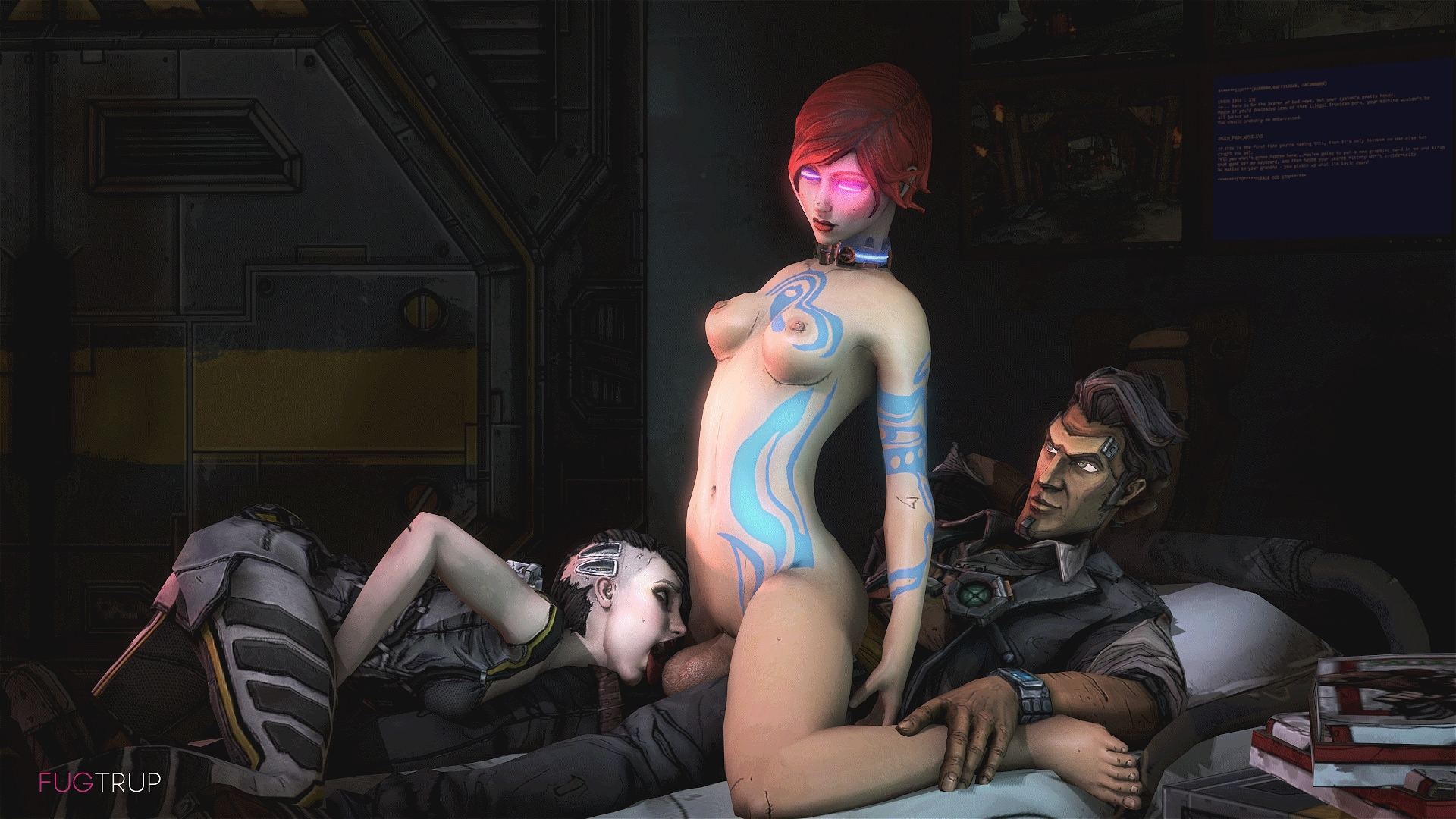 Hot naked lesbian maya and lilith borderlands  hentai pic